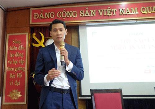 Luật sư Trần Ngọc Trung phát biểu tại Tọa đàm.