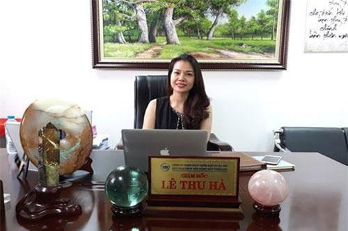 Chị Lê Thu Hà, Tổng giám đốc Sàn giao dịch Bất động sản THM Land. Ảnh: Minh Thư