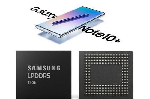 Samsung bắt đầu sản xuất RAM 12Gb LPDDR5 cho điện thoại