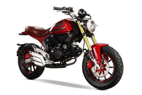 Sốc với Ducati Scambler 110cc giá chỉ 26 triệu đồng