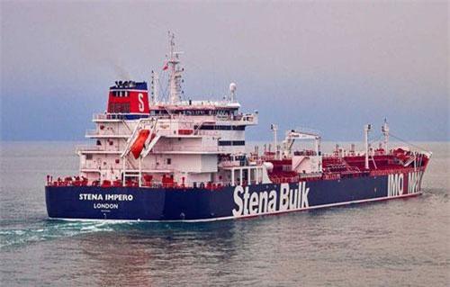 Tàu chở dầu Stena Impero (Ảnh: RT)