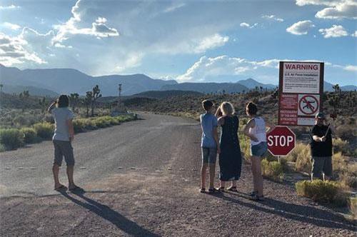 Area 51, địa điểm được cho là nơi giấu người ngoài hành tinh của Chính phủ Mỹ.