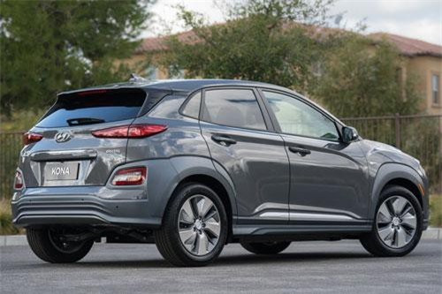 Dành cho gia đình thân thiện với môi trường: Hyundai Kona Electric.