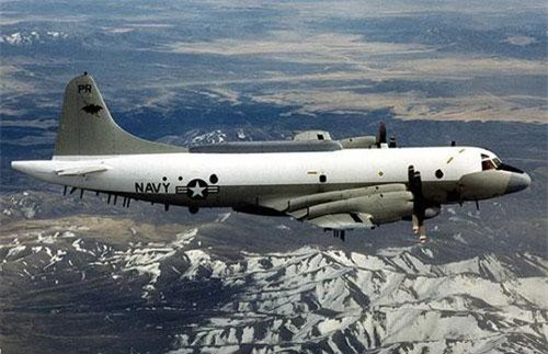 Máy bay trinh sát EP-3 của Mỹ (Ảnh: Sputnik)