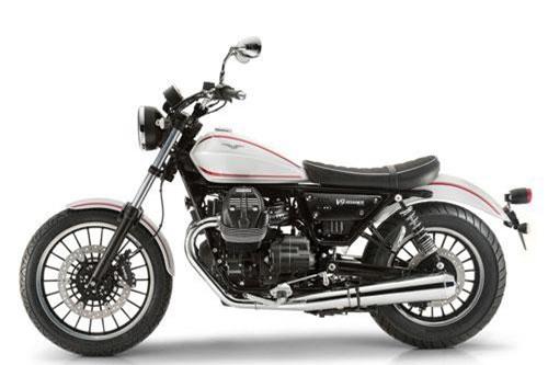 8. Moto Guzzi V9 Roamer 2019 (giá: 10.105 euro).