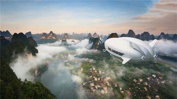 Mô hình khí cầu hiện đại; Nguồn ảnh: boatinternational.