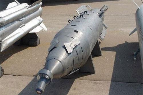 Mỗi quả bom KAB-1500 phiên bản cải tiến của Nga nặng tới 1,5 tấn