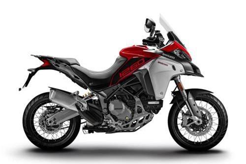 2. Ducati Multistrada 1260 Enduro 2019 (giá khởi điểm: 22.090 euro).