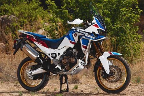 3. Honda CRF1000L2 Africa Twin Adventure Sports 2019 (giá khởi điểm: 8.199 euro).