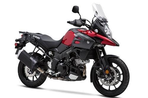 8. Suzuki V-Strom 1000 2019 (giá khởi điểm: 13.999 euro).