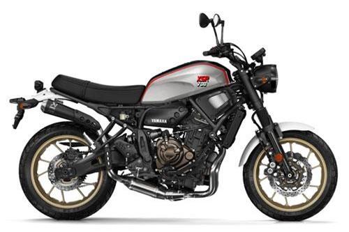 10. Yamaha XSR700 XTribute 2019 (giá khởi điểm: 8.799 euro).
