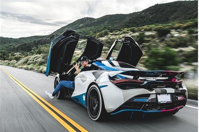 Tay choi 19 tuoi va chiec Lamborghini Huracan