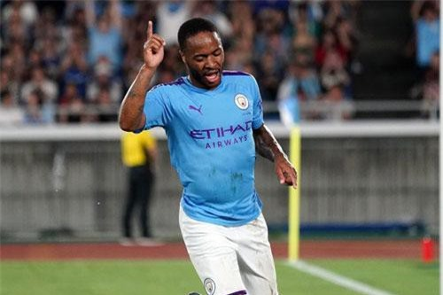 9. Raheem Sterling (Man City).