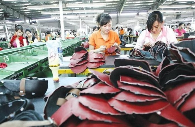 Dệt may, da giày của Việt Nam tuy đạt kim ngạch xuất khẩu lớn nhưng vẫn còn phụ thuộc nhiều vào các doanh nghiệp FDI. (Ảnh minh họa)