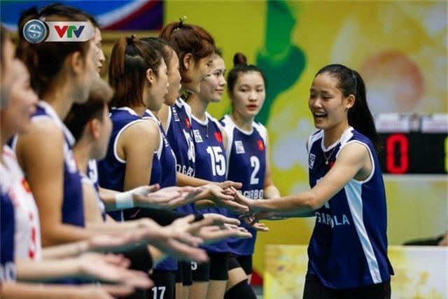 ẢNH: Ngược dòng ngoạn mục trước CHDCND Triều Tiên, ĐT Việt Nam tiến vào chung kết VTV Cup 2019 - Ảnh 1.