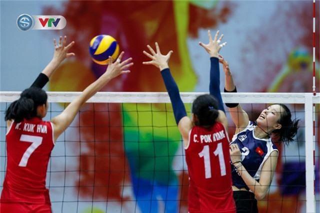 ẢNH: Ngược dòng ngoạn mục trước CHDCND Triều Tiên, ĐT Việt Nam tiến vào chung kết VTV Cup 2019 - Ảnh 11.