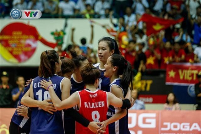 ẢNH: Ngược dòng ngoạn mục trước CHDCND Triều Tiên, ĐT Việt Nam tiến vào chung kết VTV Cup 2019 - Ảnh 13.