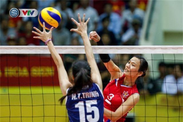 ẢNH: Ngược dòng ngoạn mục trước CHDCND Triều Tiên, ĐT Việt Nam tiến vào chung kết VTV Cup 2019 - Ảnh 4.