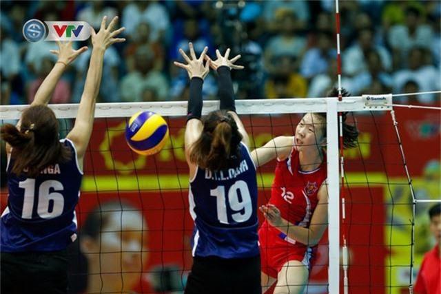 ẢNH: Ngược dòng ngoạn mục trước CHDCND Triều Tiên, ĐT Việt Nam tiến vào chung kết VTV Cup 2019 - Ảnh 5.