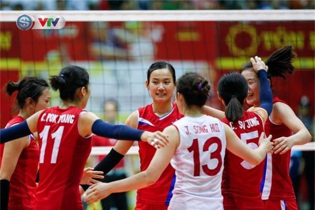 ẢNH: Ngược dòng ngoạn mục trước CHDCND Triều Tiên, ĐT Việt Nam tiến vào chung kết VTV Cup 2019 - Ảnh 6.