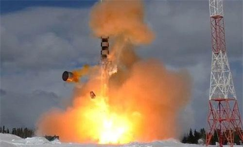 Một vụ thử tên lửa Nga (Ảnh minh họa: Sputnik)