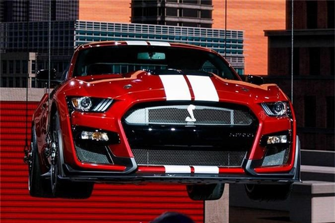 Mustang Shelby GT500 - xe the thao manh nhat cua Ford