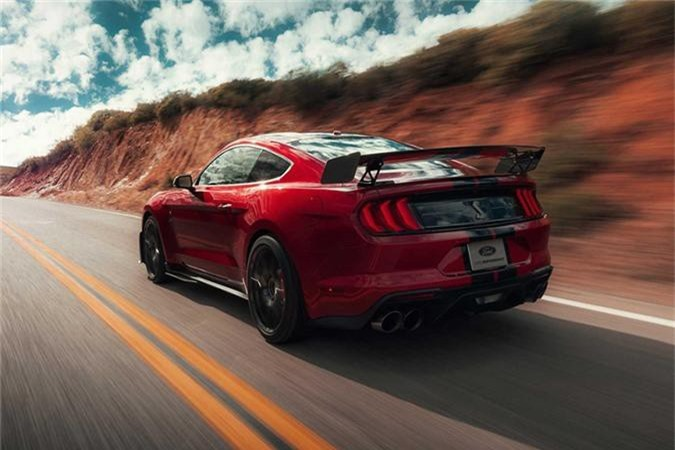 Mustang Shelby GT500 - xe the thao manh nhat cua Ford-Hinh-2