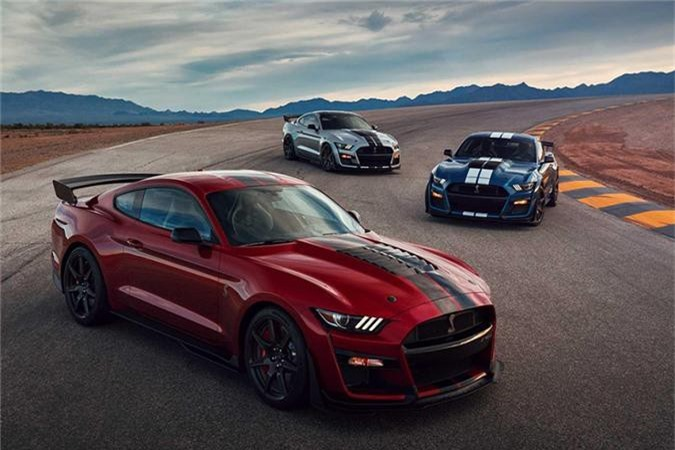 Mustang Shelby GT500 - xe the thao manh nhat cua Ford-Hinh-6