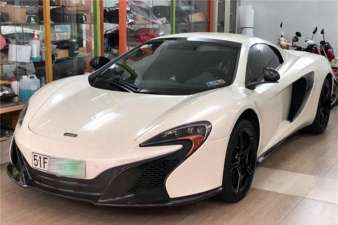 Rao ban McLaren 650S Spider cua ong Dang Le Nguyen Vu