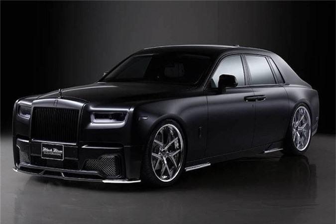 Xe sieu sang Rolls-Royce Phantom VIII bi an voi goi do Wald