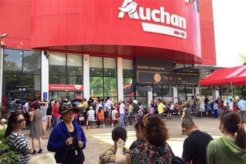 Sau khi về tay nhà đầu tư mới, thương hiệu Auchan sẽ sớm bị