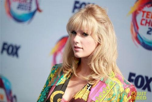 Taylor Swift tại lễ trao giải Teen Choice Awards 2019. (Ảnh: Just Jared)