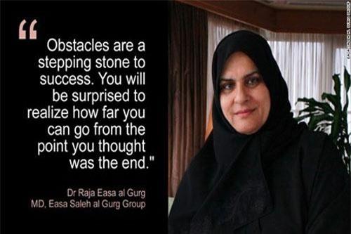 Giám đốc điều hành tập đoàn Easa Saleh Al Gurg, tiến sĩRaja Easa al Gurg.