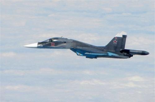 Dự kiến, Su-34 sẽ được cập nhật tiếp hệ thống điện tử hàng không, bổ sung vũ khí mới qua đó nâng sức chiến đấu tổng thể. Nguồn ảnh: Wikipedia