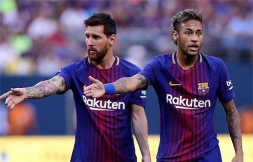 Messi muốn tái ngộ Neymar ở Barcelona.