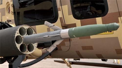 Hydra-70 sau khi được lắp bộ dẫn hướng laser đã trở thành rocket thông minh. Ảnh: Không quân Mỹ.
