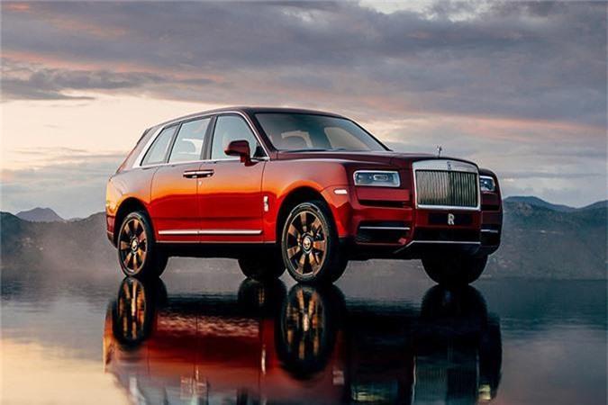 SUV đắt nhất thế giới hiện nay là mẫu Rolls-Royce Cullinan với giá 325.000 USD.