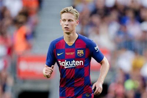 Tiền vệ: Frenkie de Jong.