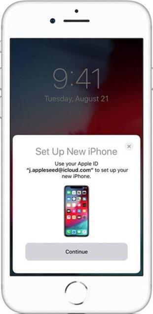 Cách chuyển dữ liệu từ iPhone cũ sang iPhone mới bằng tiện ích trên iOS 12.4