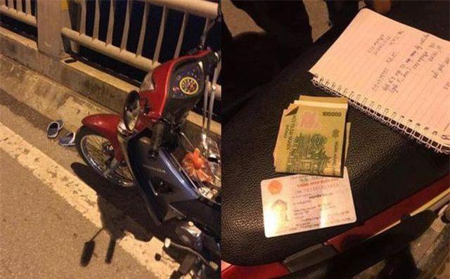 Hà Nội: Tìm được thiếu nữ 18 tuổi bỏ lại xe máy, nhảy xuống sông Hồng
