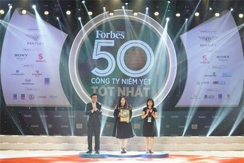 Lễ vinh danh 50 công ty niêm yết tốt nhất Việt Nam 2019.