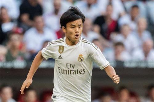 4. Takefusa Kubo (Real Madrid, 18 tuổi).