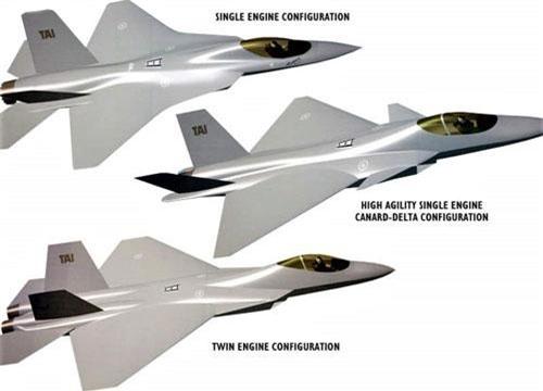 Lộ diện chiến đấu cơ thế hệ 5 TF-X của Thổ Nhĩ Kỳ