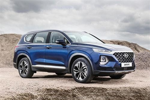 Khám phá Hyundai SantaFe 2020, giá từ 626 triệu đồng