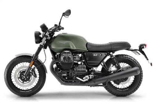 10. Moto Guzzi V7 III Rough 2019 (giá: 9.755 euro).
