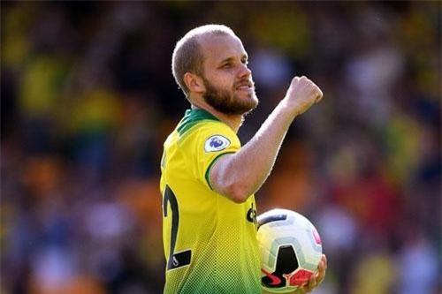 Tiền đạo: Teemu Pukki (Norwich City).