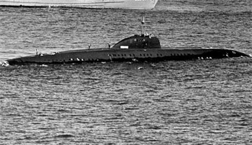 """K-324 - Tàu ngầm Liên Xô đã """"xúc phạm"""" Hải quân Mỹ"""