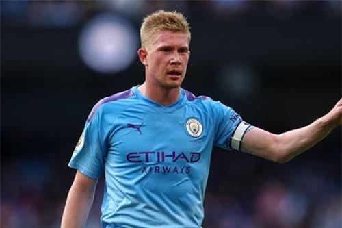Tiền vệ: Kevin de Bruyne (Man City).