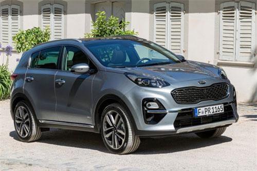 Top 10 ôtô bán chạy nhất tại Anh: Xướng tên Kia Sportage