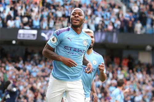 Tiền đạo: Raheem Sterling (Man City).